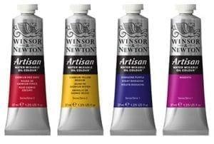 Winsor & Newton Artisan olieverf watervermengbaar project rembrandt npo